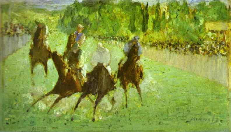At the Races, 1875